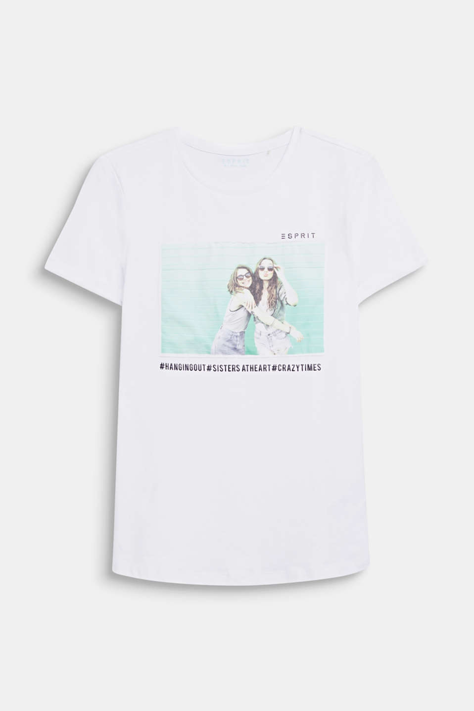 Esprit - Shirt met foto-applicatie