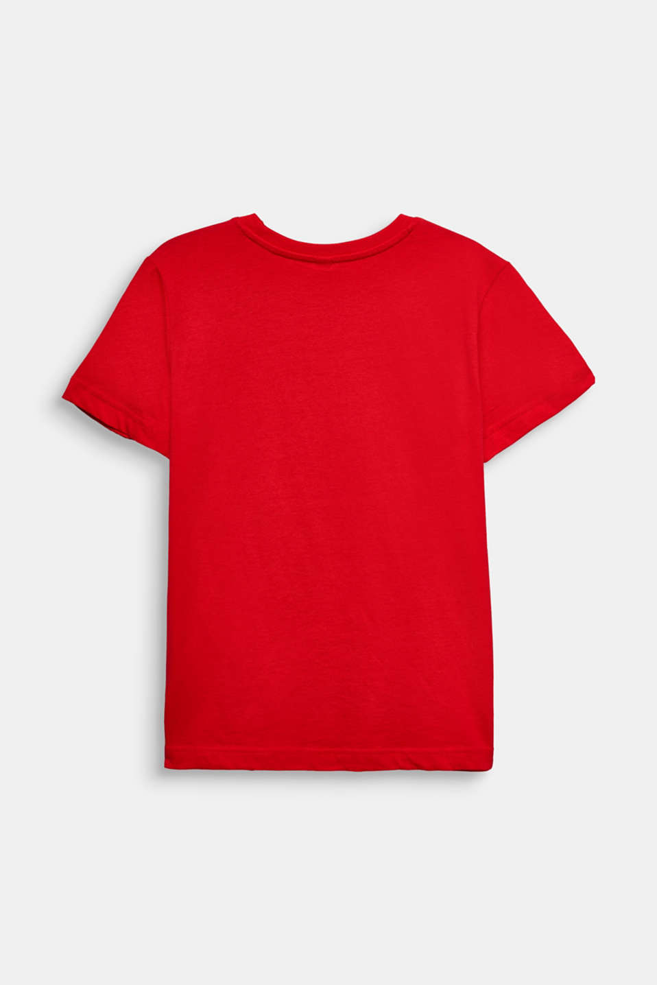 Printed T-shirt, 100% cotton, LCRED, detail image number 1