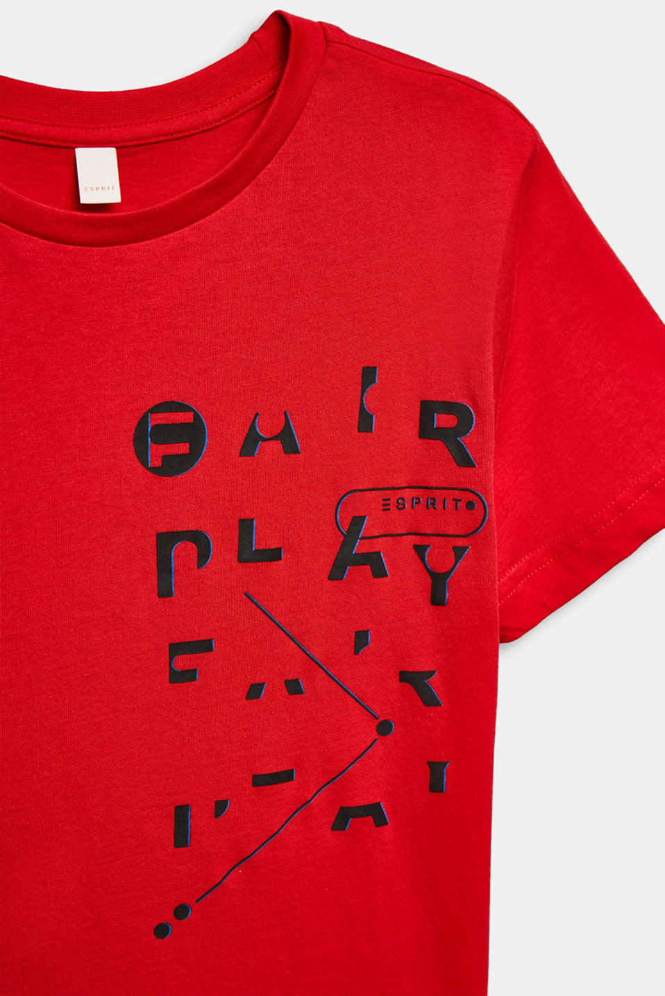Printed T-shirt, 100% cotton, LCRED, detail image number 2