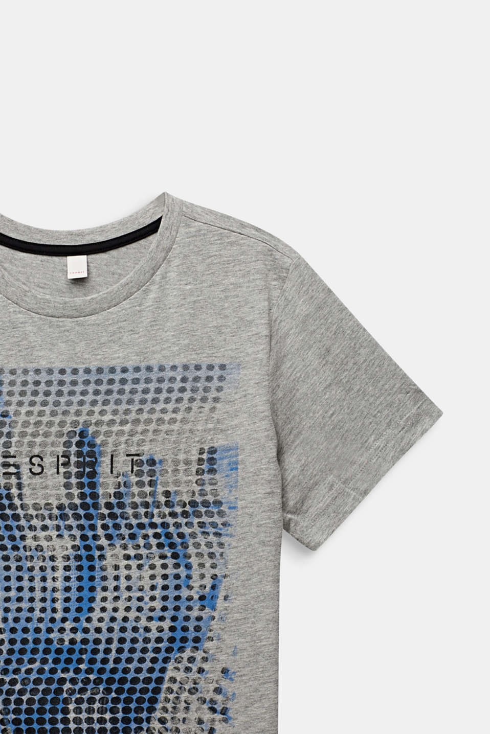 T-shirt with a photo print, LCMID HEATHER GR, detail image number 2