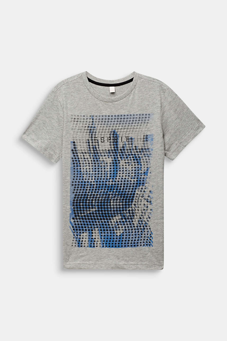 T-shirt with a photo print, LCMID HEATHER GR, detail image number 0