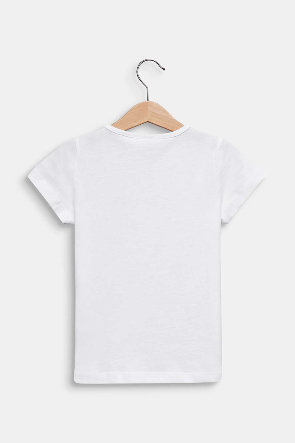 Printed T-shirt, 100% cotton, WHITE, detail image number 1