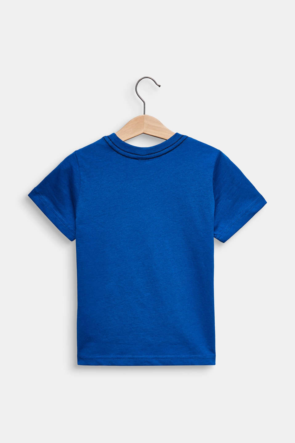 Printed T-shirt, 100% cotton, ELECTRIC BLUE, detail image number 1