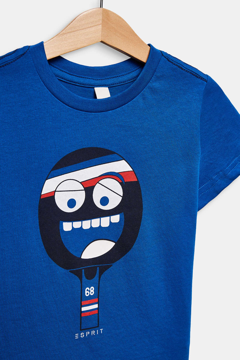 Printed T-shirt, 100% cotton, ELECTRIC BLUE, detail image number 2