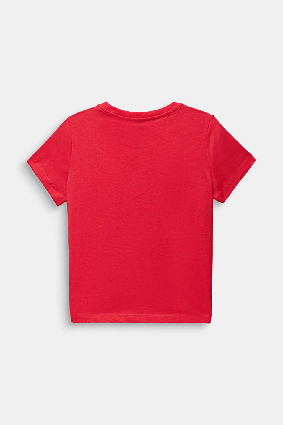 Front print T-shirt, 100% cotton, LCRASPBERRY, detail image number 1
