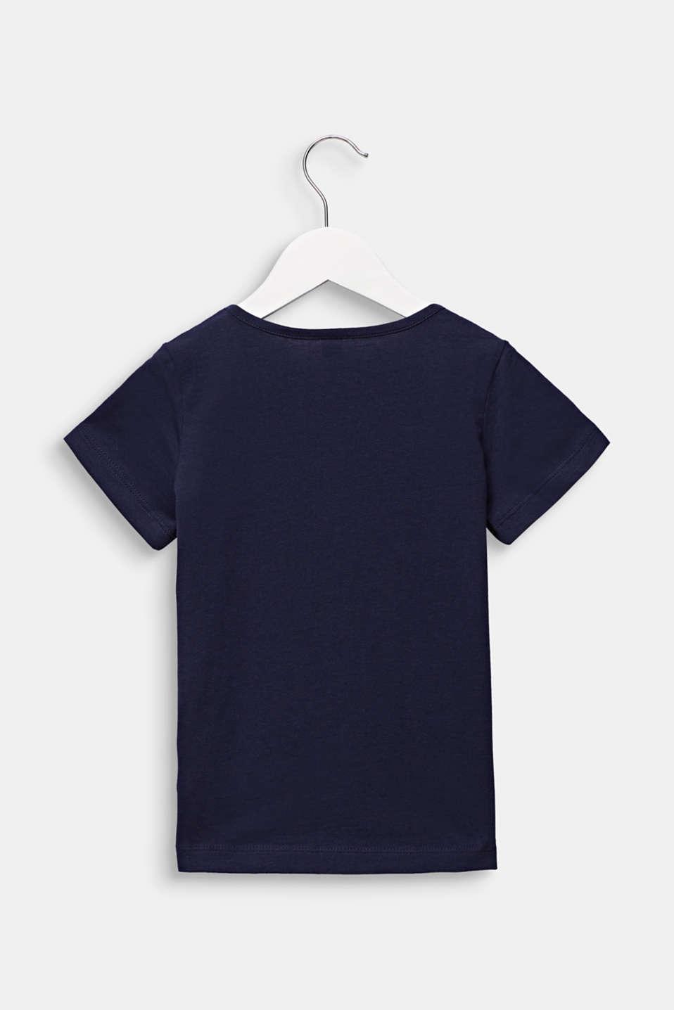 Ladybird print T-shirt, 100% cotton, MIDNIGHT BLUE, detail image number 1