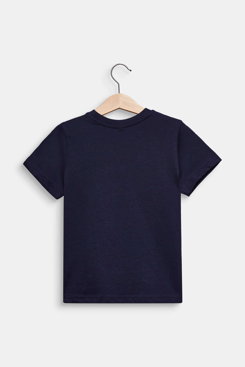 Printed T-shirt, 100% cotton, MIDNIGHT BLUE, detail image number 1
