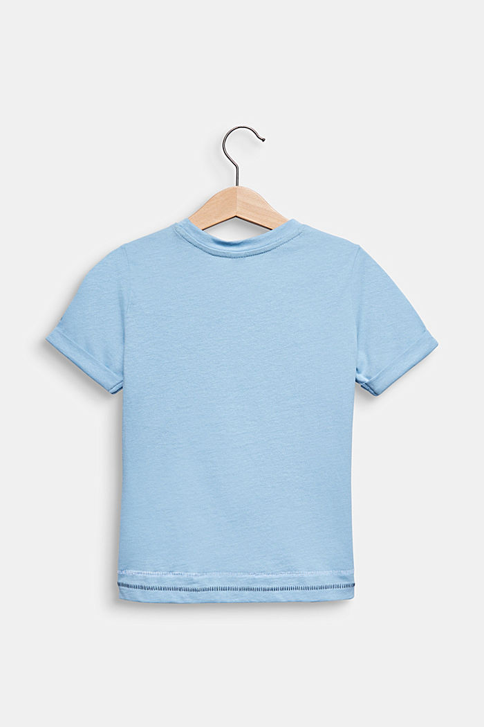 T-shirt with a photo print, LIGHT BLUE, detail image number 1