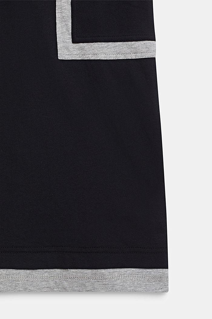 Tričko s barevnými bloky, BLACK, detail image number 3
