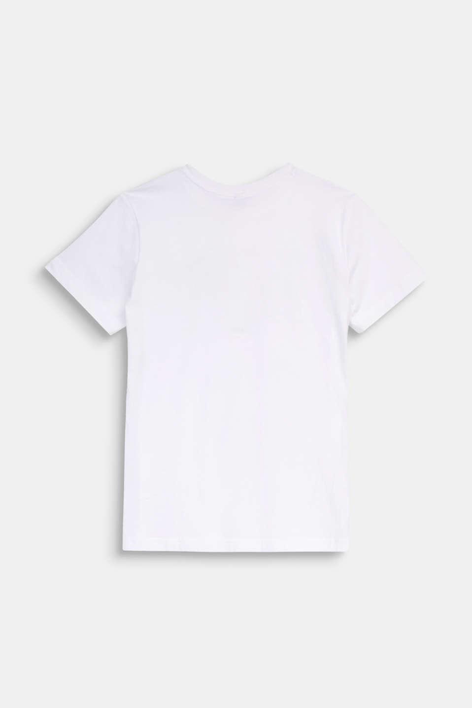 Statement T-shirt, 100% cotton, LCWHITE, detail image number 1
