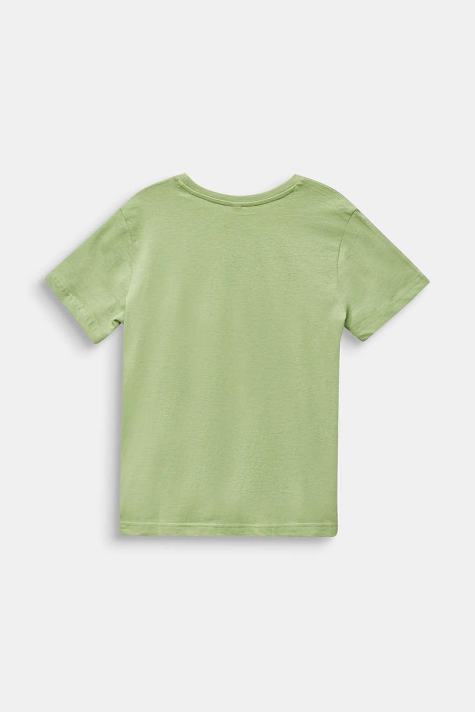 Statement T-shirt, 100% cotton, LCPASTEL GREEN, detail image number 1