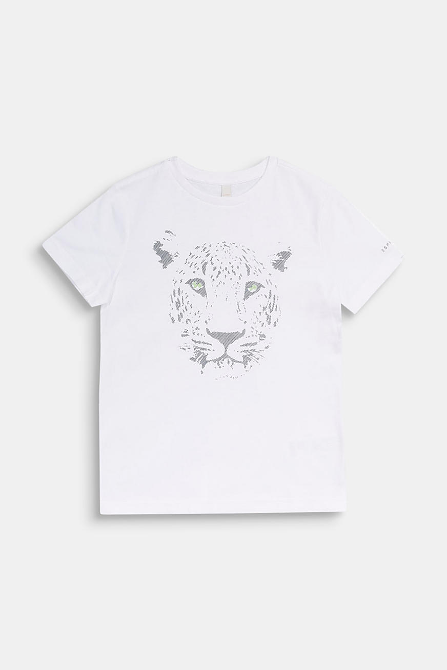 Front print T-shirt, 100% cotton