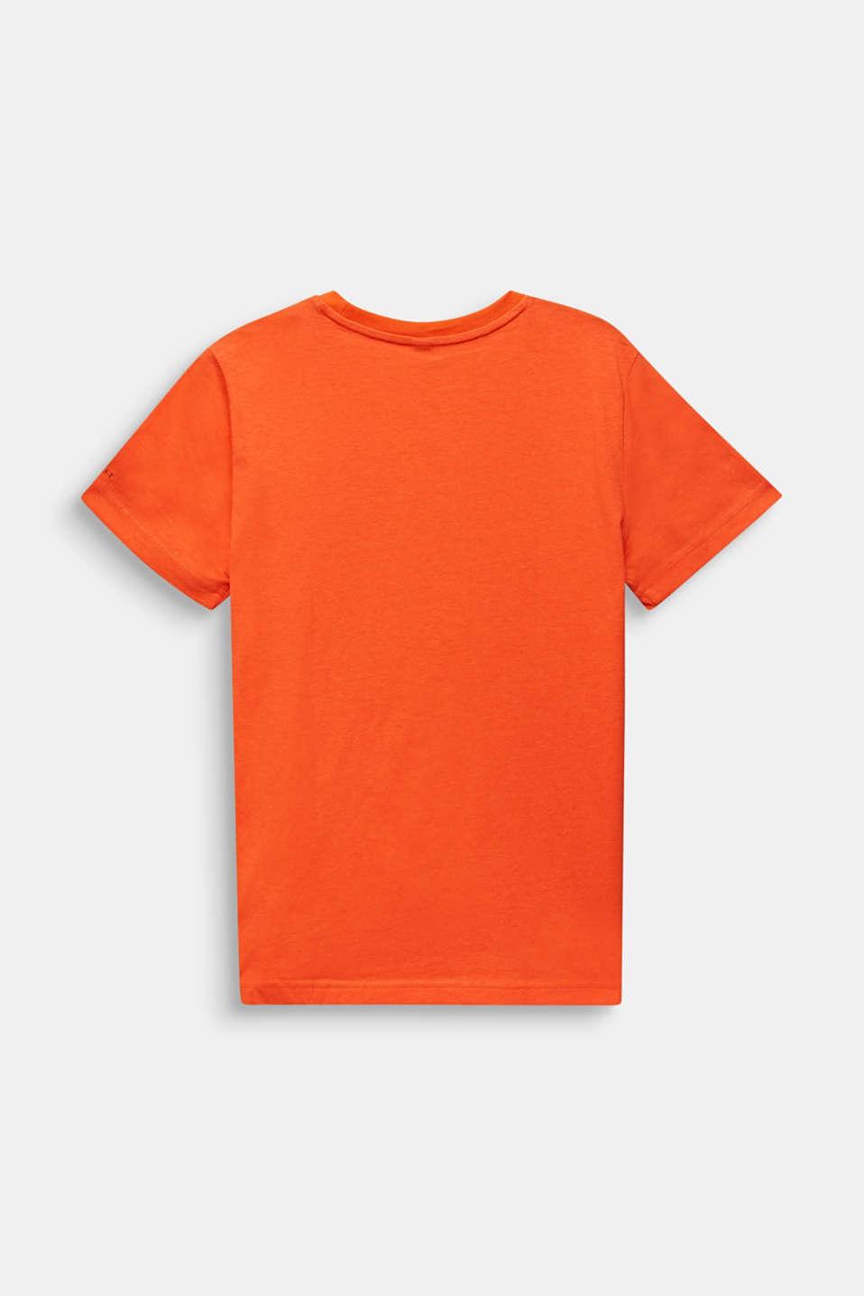 Front print T-shirt, 100% cotton, LCTANGERINE, detail image number 1