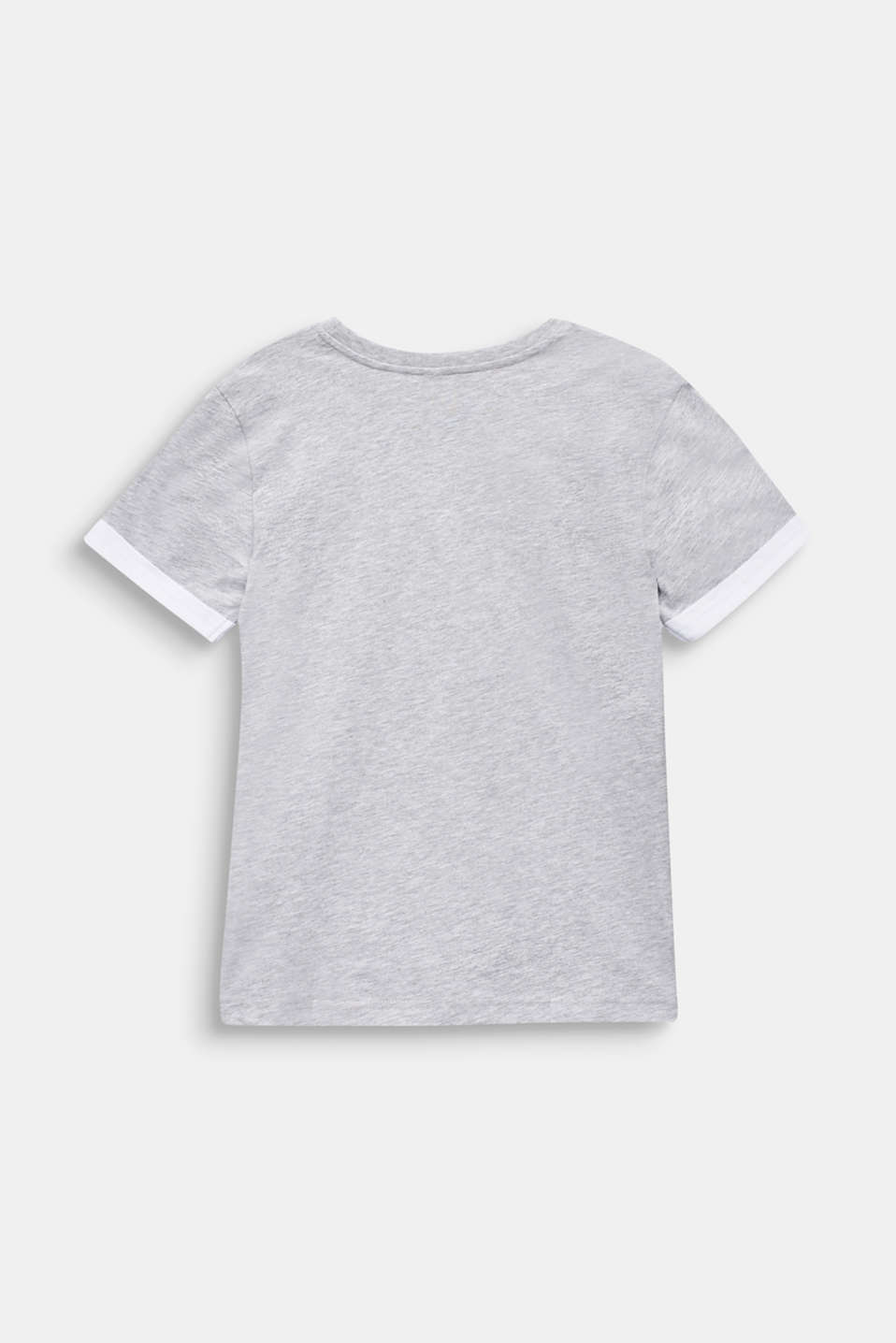Logo T-shirt, 100% cotton, LCHEATHER SILVER, detail image number 1