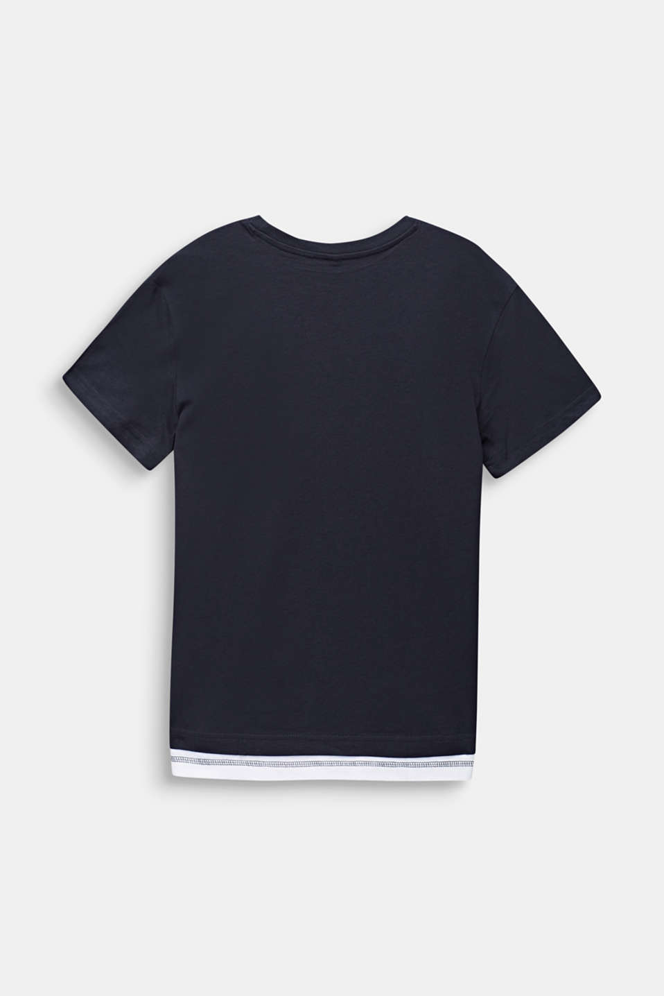 Statement T-shirt made of 100% cotton, LCANTHRACITE, detail image number 1