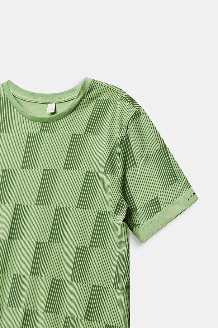 T-shirt med grafiktryck, 100% bomull, PASTEL GREEN, detail image number 2