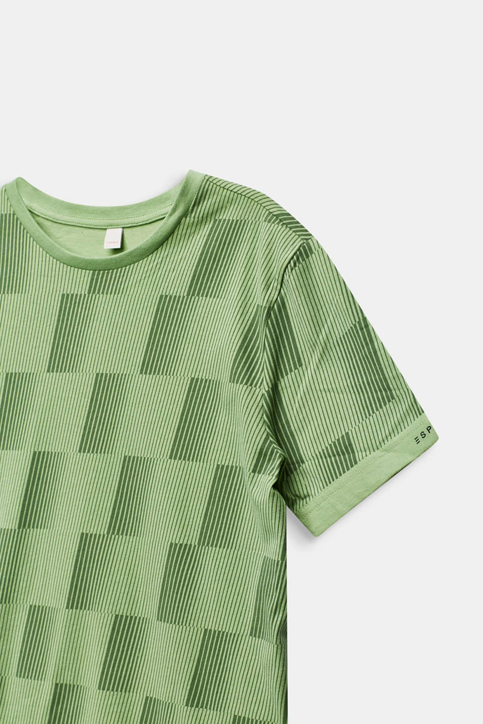 Graphically printed T-shirt, 100% cotton, LCPASTEL GREEN, detail image number 2