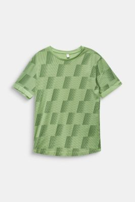Graphically printed T-shirt, 100% cotton, LCPASTEL GREEN, detail