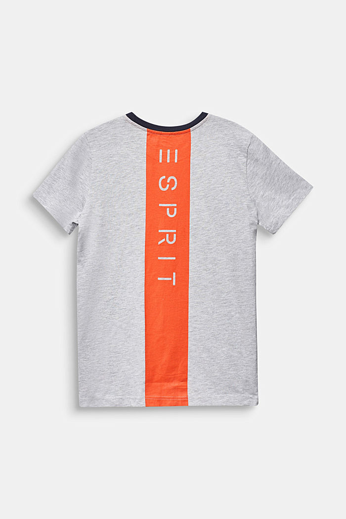 Top with a logo print on the back