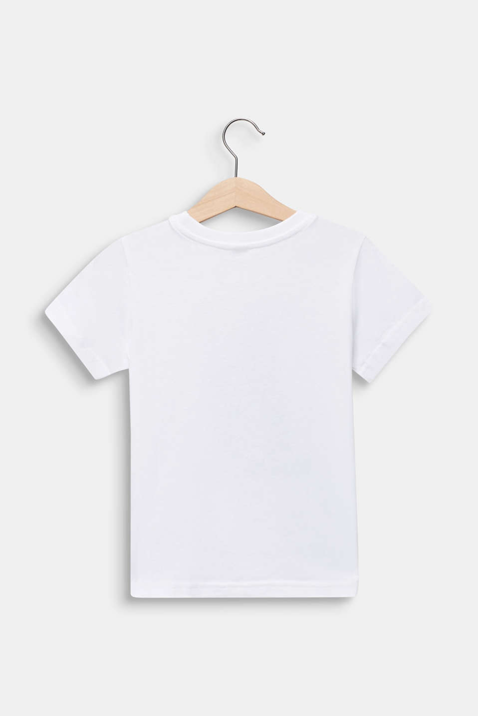 Statement T-shirt made of 100% cotton, WHITE, detail image number 1
