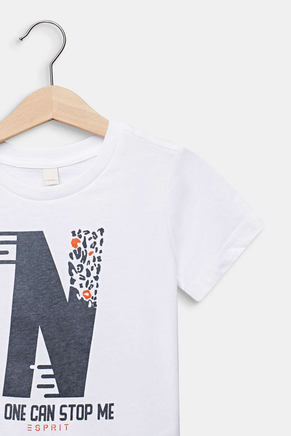 Statement T-shirt made of 100% cotton, WHITE, detail image number 2
