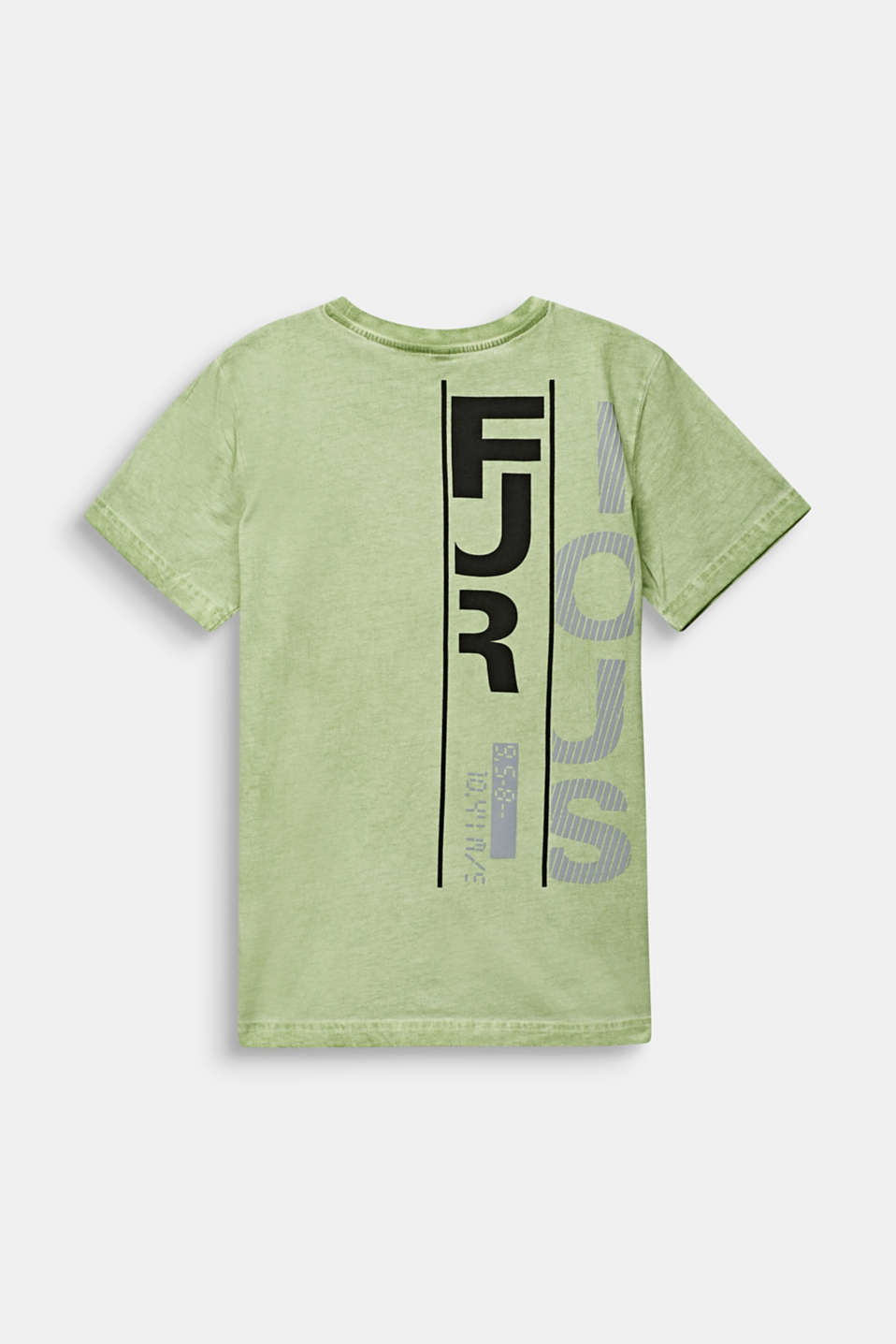 Casual T-shirt with a reflective print, LCPASTEL GREEN, detail image number 1