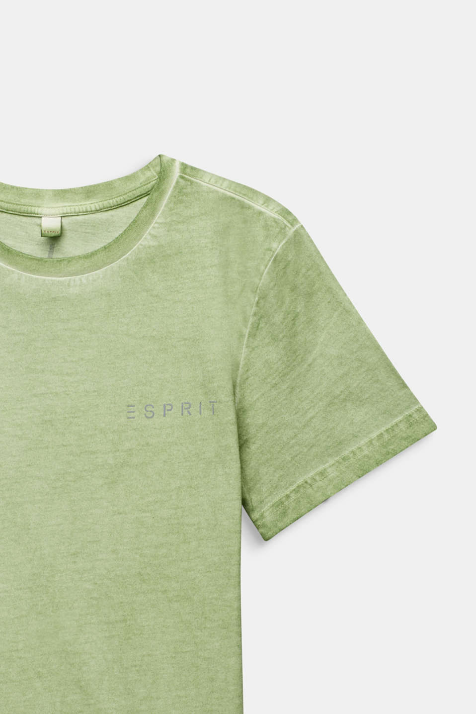 Casual T-shirt with a reflective print, LCPASTEL GREEN, detail image number 2