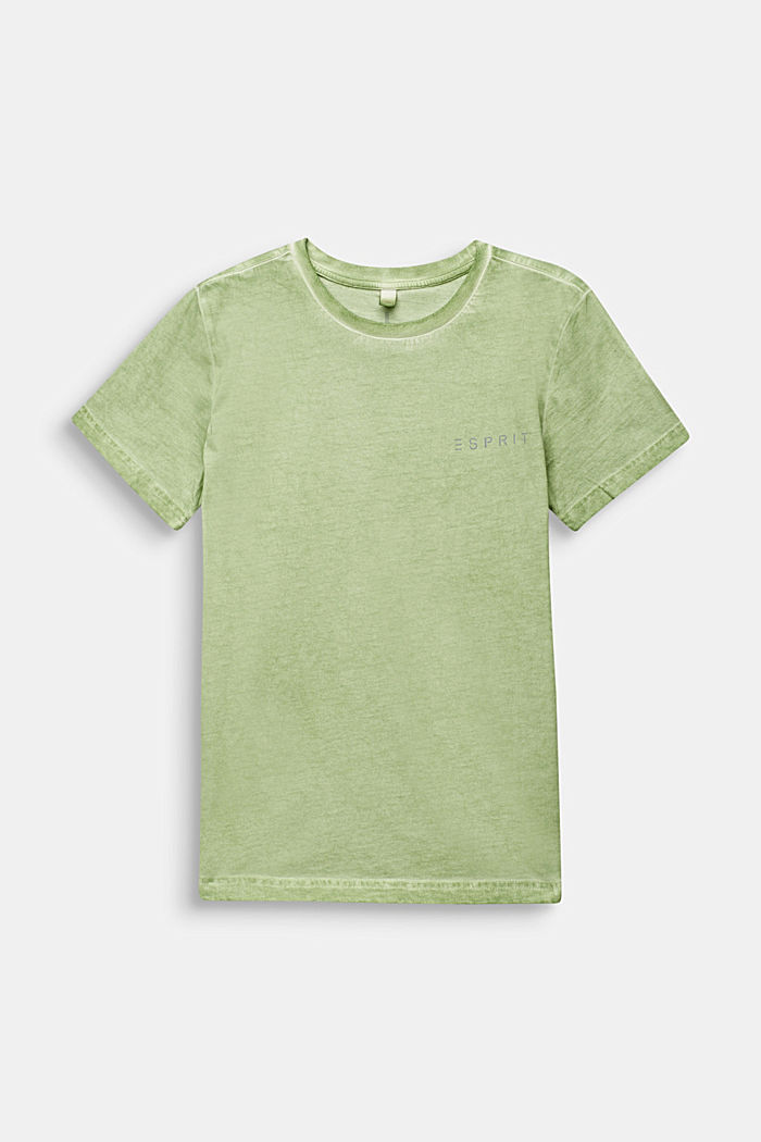 Casual T-shirt with a reflective print