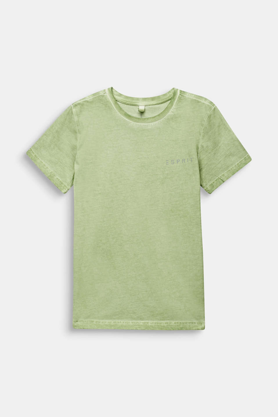 Casual T-shirt with a reflective print, LCPASTEL GREEN, detail image number 0