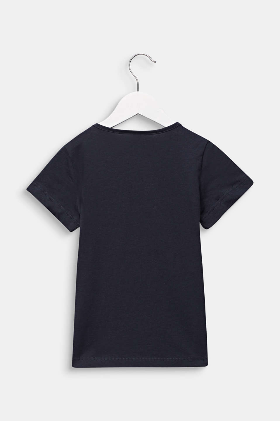 Logo print T-shirt in 100% cotton, ANTHRACITE, detail image number 1