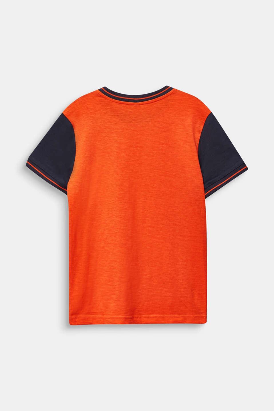 Photo print T-shirt, 100% cotton, LCTANGERINE, detail image number 1