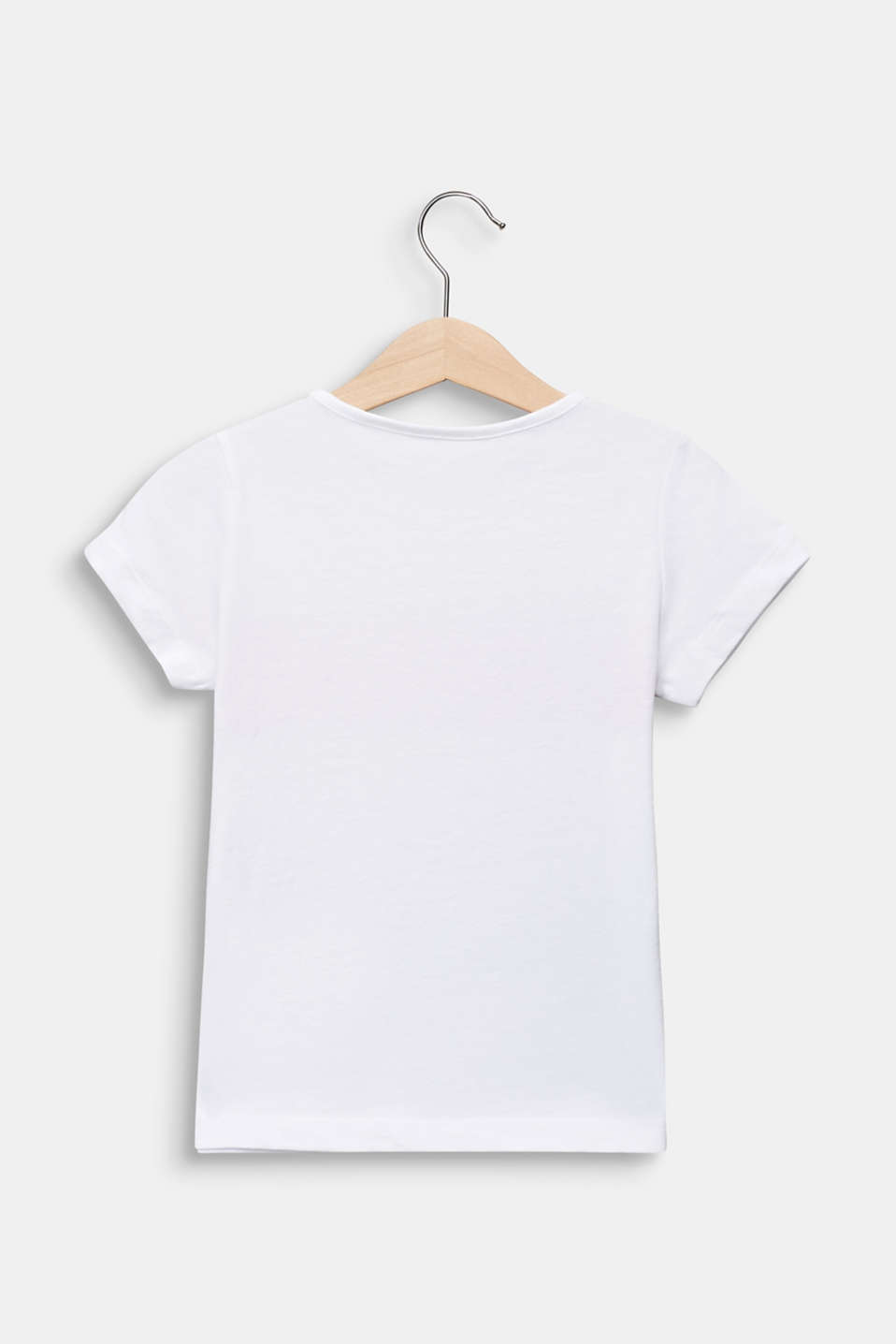 Photo print T-shirt, 100% cotton, WHITE, detail image number 1