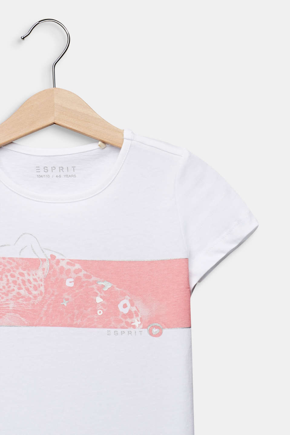 Photo print T-shirt, 100% cotton, WHITE, detail image number 2