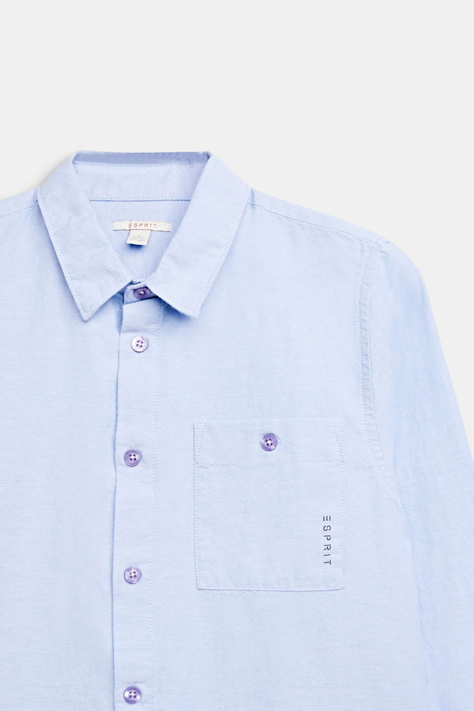 For smart boys! This shirt is great for any occasion, LCPASTEL BLUE, detail image number 2
