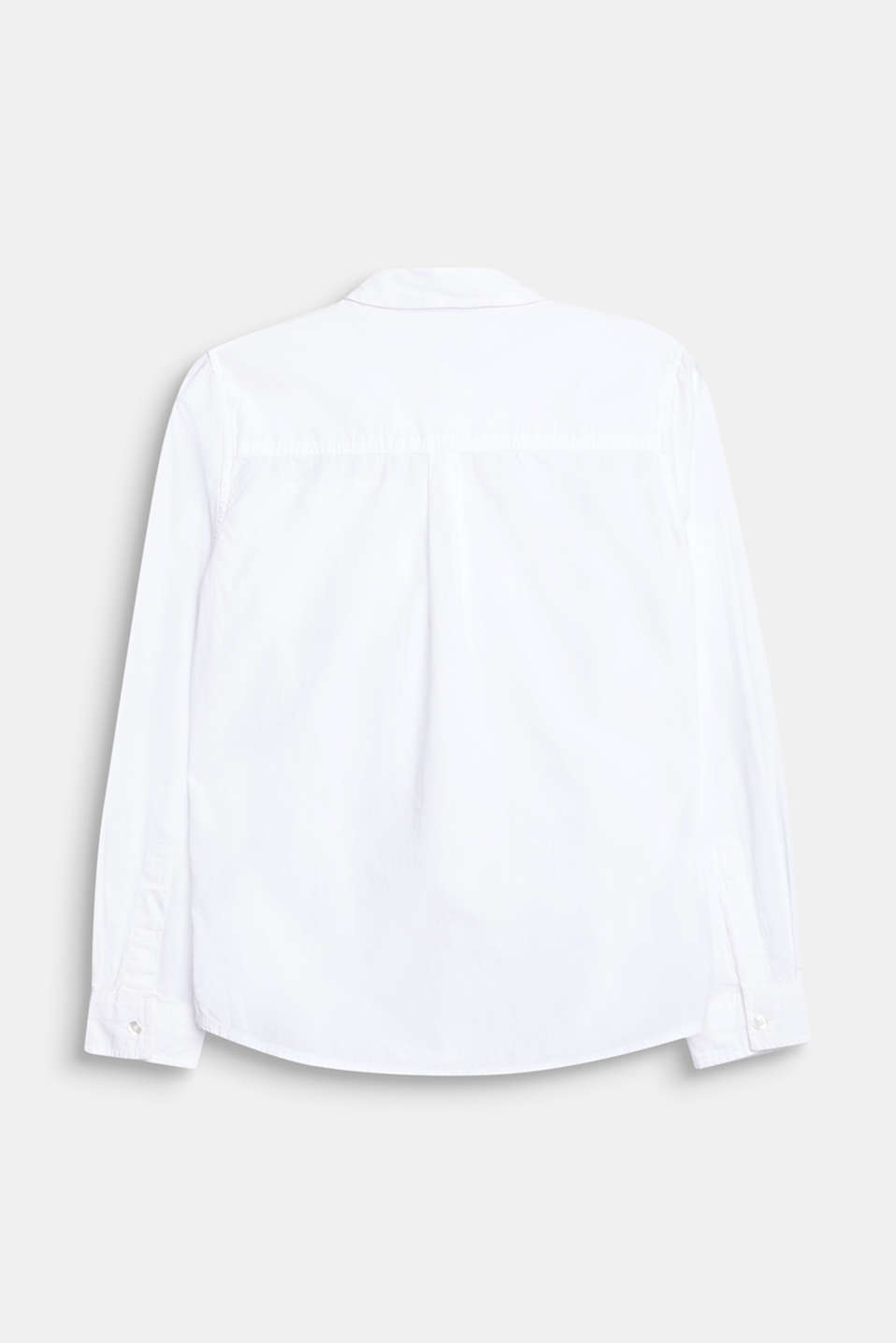 Classic shirt in 100% cotton, LCWHITE, detail image number 1