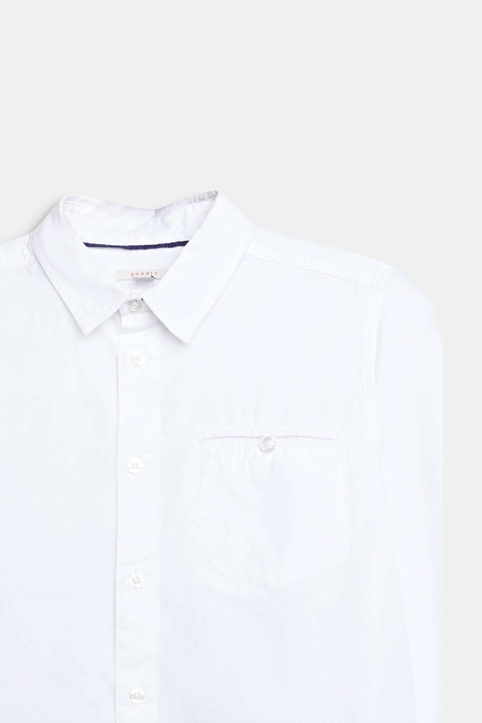 Classic shirt in 100% cotton, LCWHITE, detail image number 2