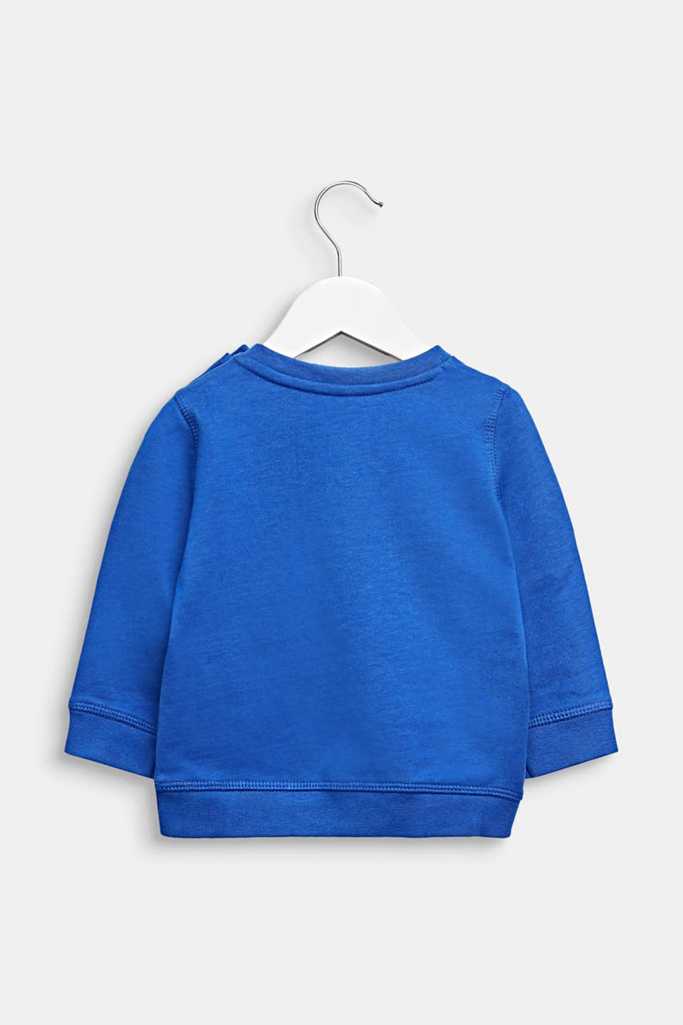 Statement sweatshirt made of 100% cotton, LCINFINITY BLUE, detail image number 1