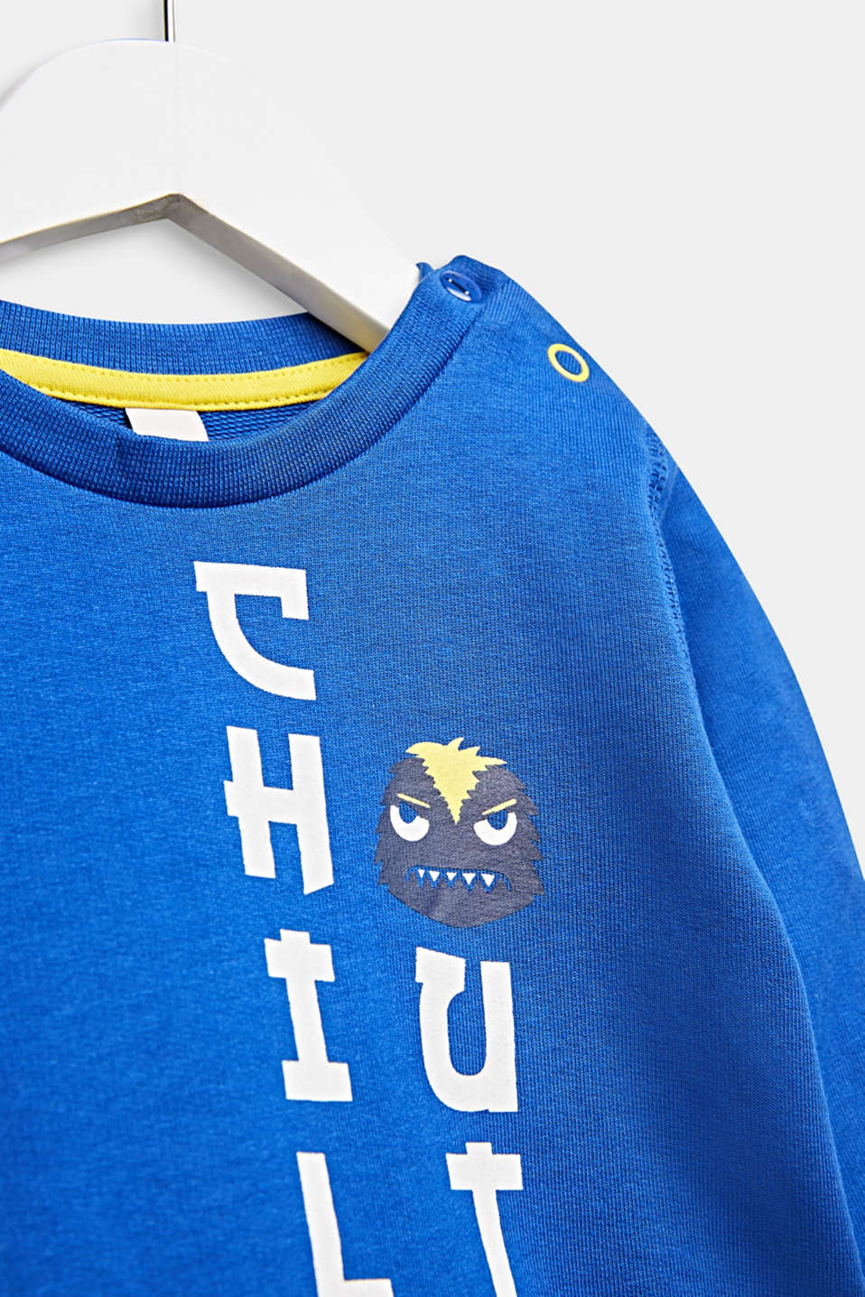 Statement sweatshirt made of 100% cotton, LCINFINITY BLUE, detail image number 2