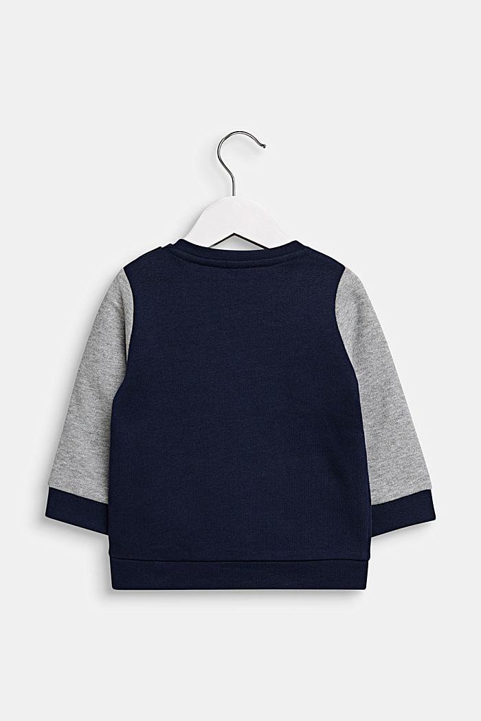 Sweatshirt mit Monstergesicht, MIDNIGHT BLUE, detail image number 1