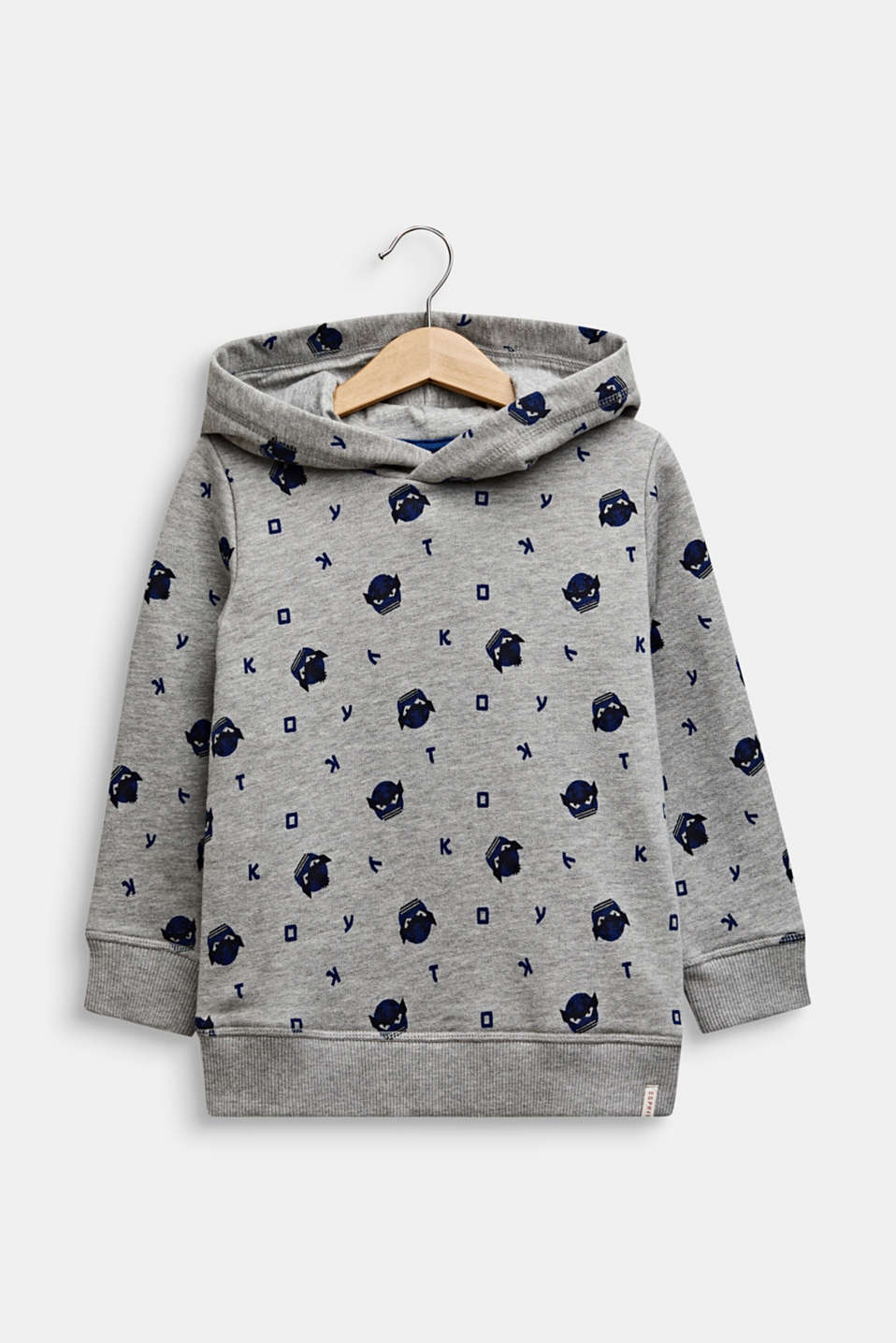 Esprit - Sweatshirt hoodie with an all-over print