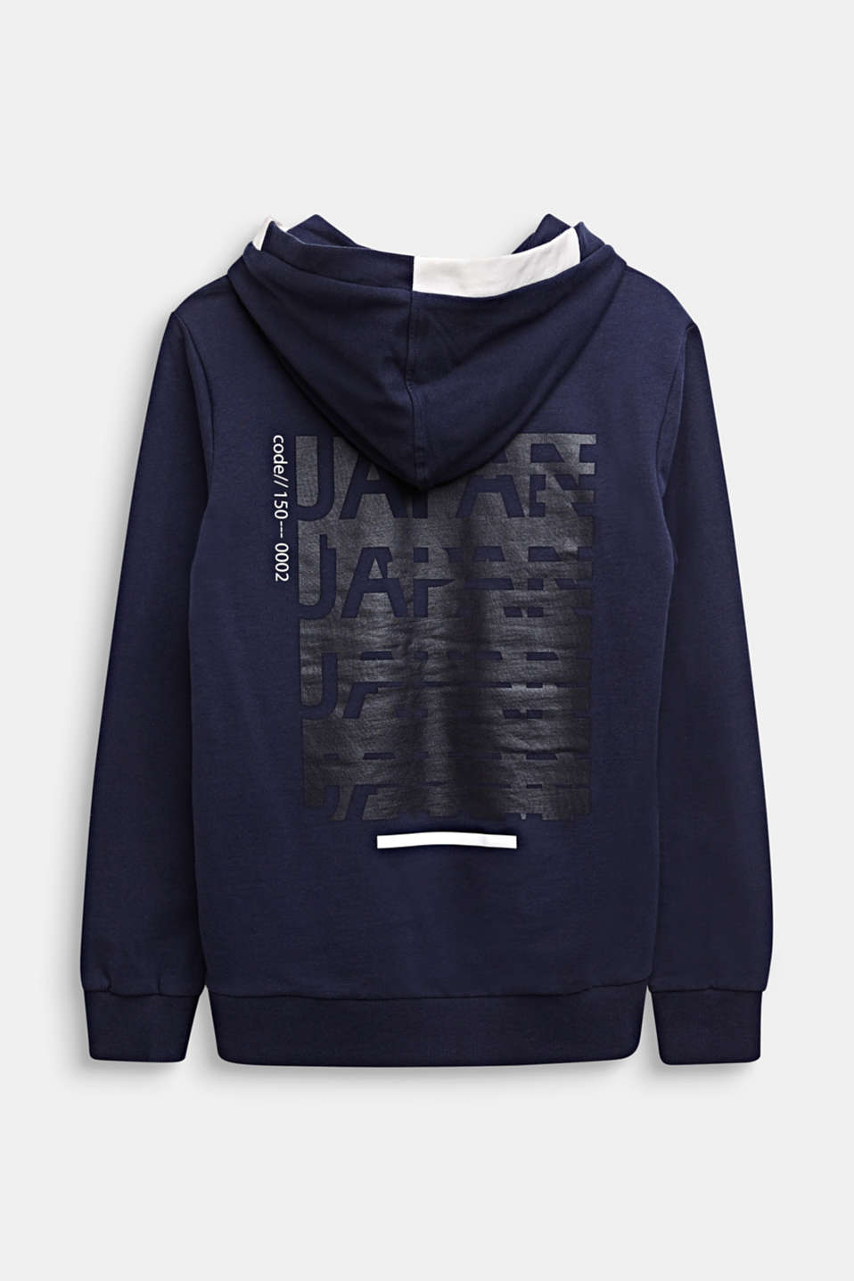 Sweatshirt with a back print, 100% cotton, LCMIDNIGHT BLUE, detail image number 1