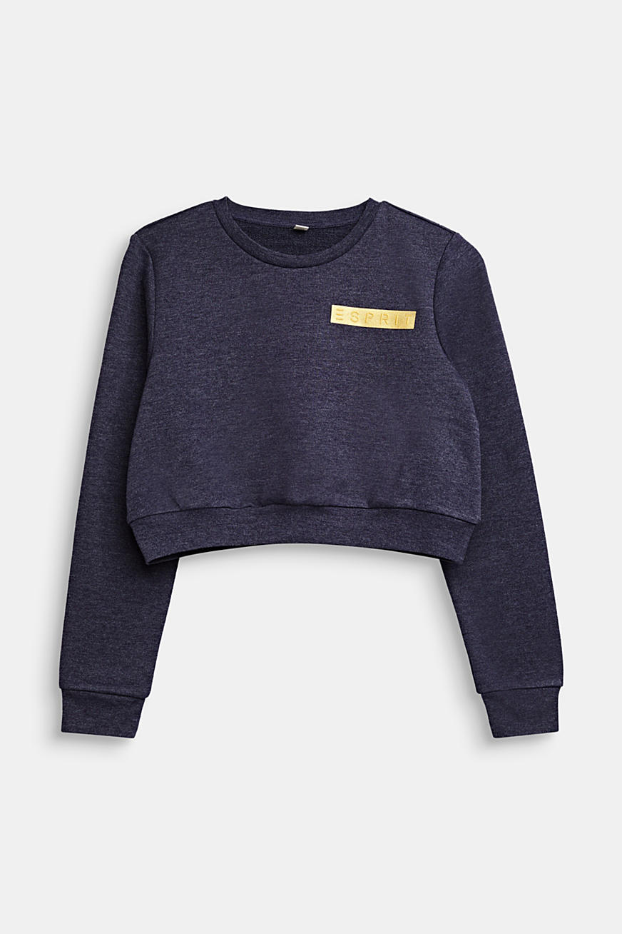Stumpet sweatshirt med logo