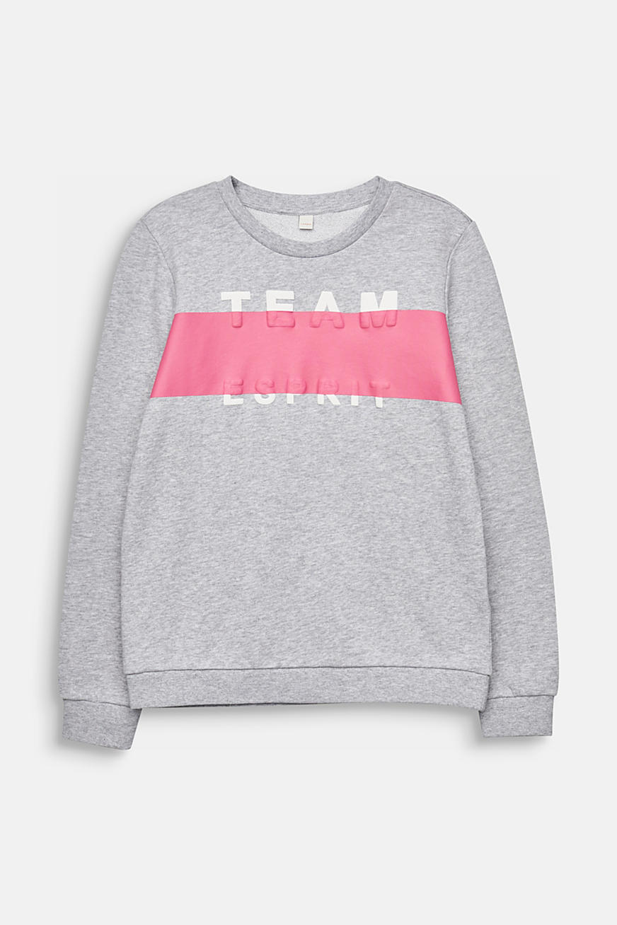 Statement-Sweatshirt, 100% Baumwolle