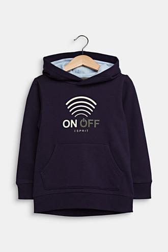 GLOW IN THE DARK hoodie, 100% cotton