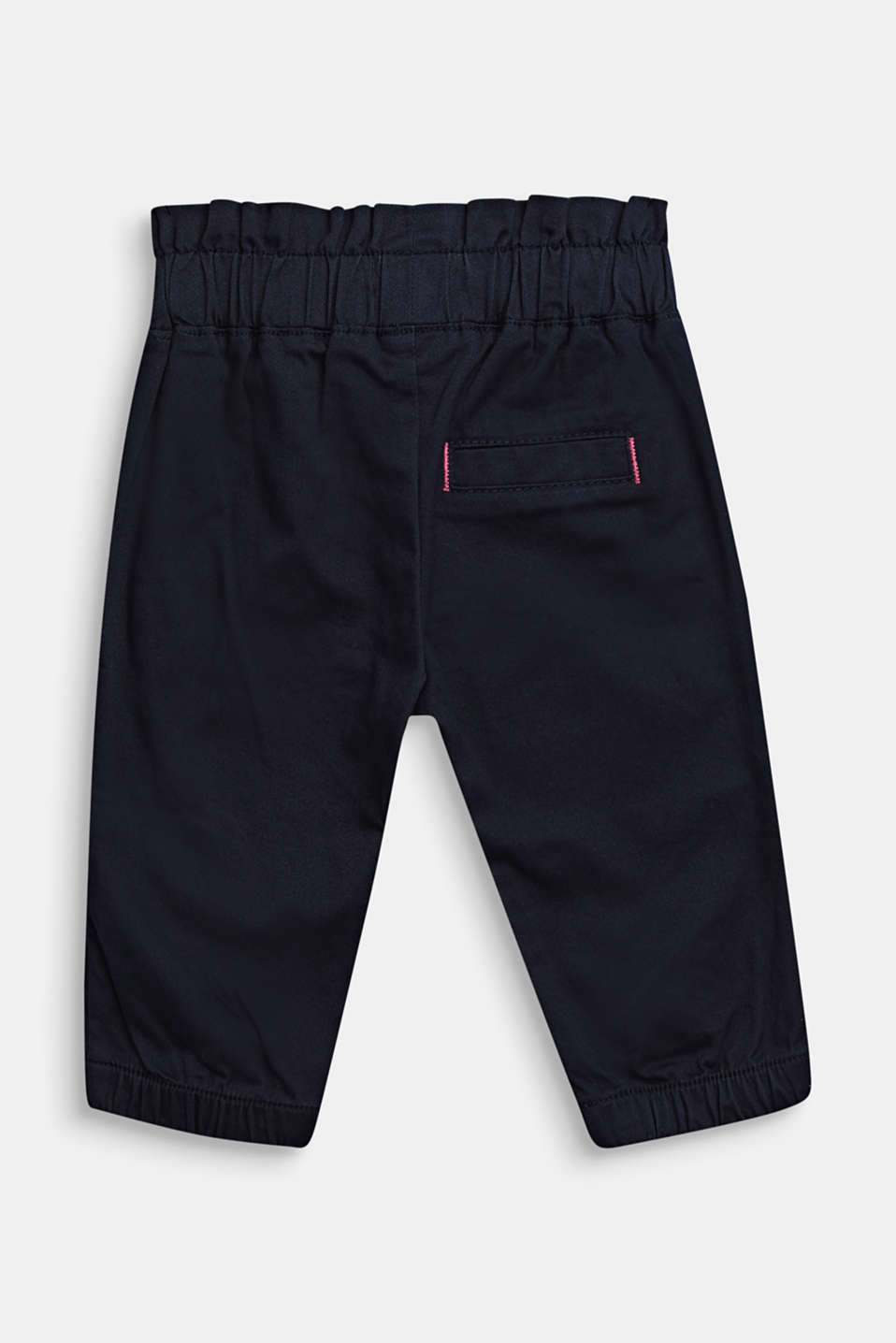 Woven trousers in a tracksuit bottom style, LCMIDNIGHT BLUE, detail image number 2