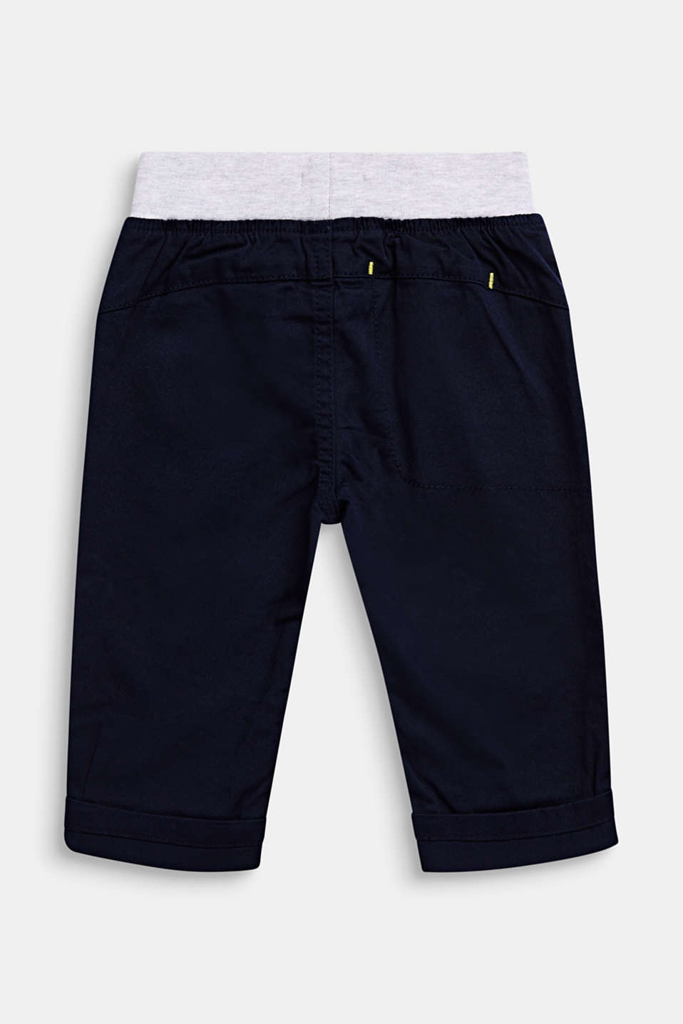 Woven trousers with an elasticated waistband, LCMIDNIGHT BLUE, detail image number 1