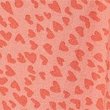 Woven trousers with multi-heart print, CORAL, swatch