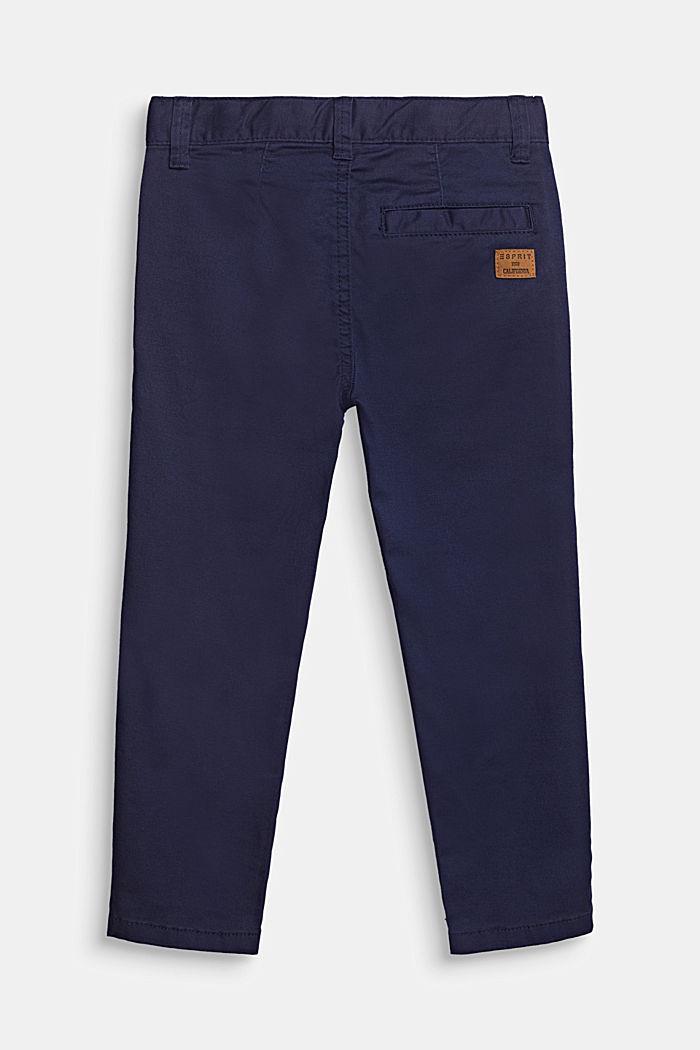 Chino mit Verstellbund, 100% Baumwolle, MIDNIGHT BLUE, detail image number 0