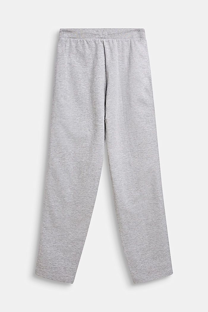 Tracksuit bottoms with sequin stripes
