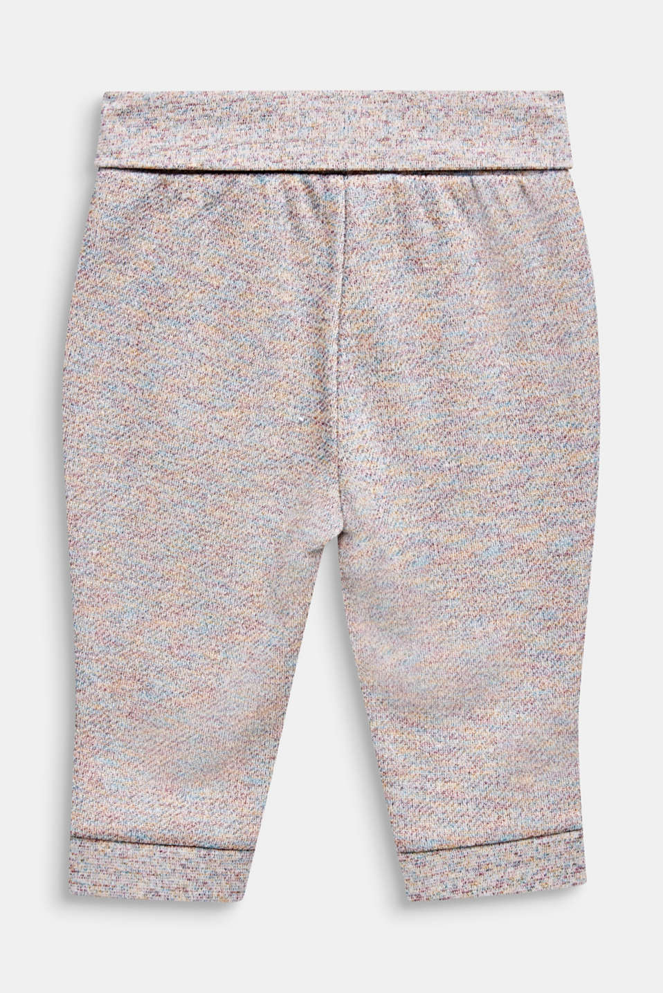 Tracksuit bottoms with a colourful glitter look, LCMULTICOLOR, detail image number 1
